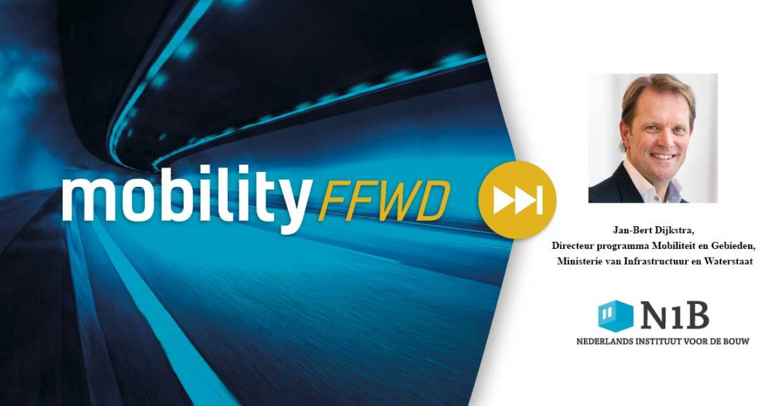 🎙️ Podcast: Jan-Bert Dijkstra, Directeur programma Mobiliteit en Gebieden